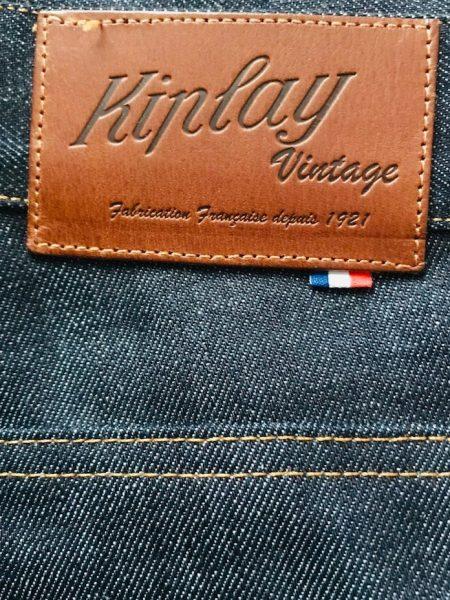 test avis kiplay vintage jean étiquette