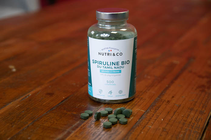test avis nutri and co spiruline