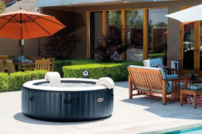 Jacuzzi jaccuzi spa piscine exterieur gonflable pas cher amenagement mobilier jardin