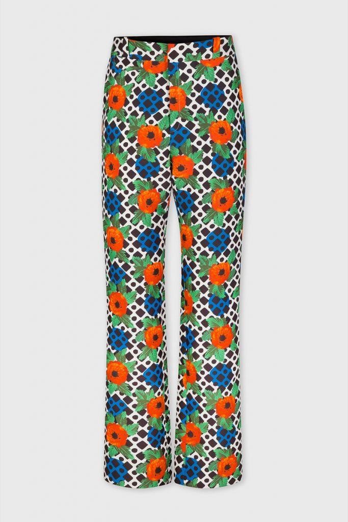 Paco rabane pantalon homme pop culture motif colore 2020 look mode luxe