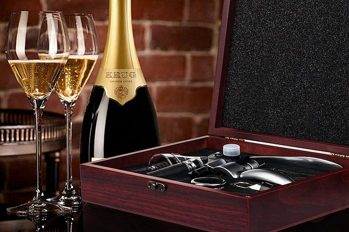 accessoire alcool cadeau amoureux adorateur vin tire bouchon materiel professionnel pas cher termometre aerateur spiritueux