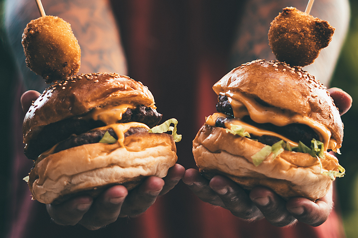 accessoire ustentile cadeau cuisine amour viande adorateur amoureux viandard burger burguer presse steak
