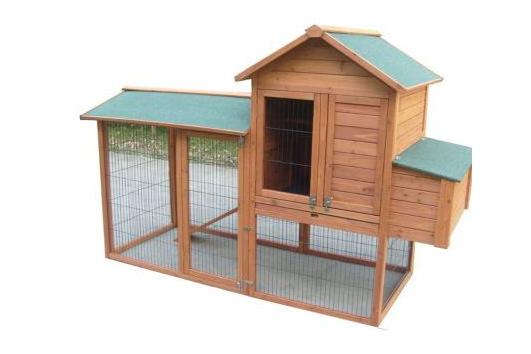 amenagement jardin mobilier exterieur poulailler bois chien chat