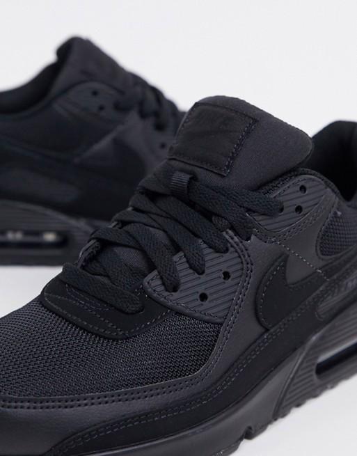 basket chaussure homme nike noir ete 2020 tenue look streetwear classique airmax asos
