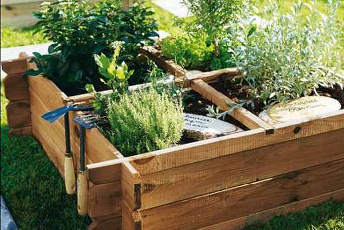 carre potager mobilier amenagement jardin exterieur debuter materiel