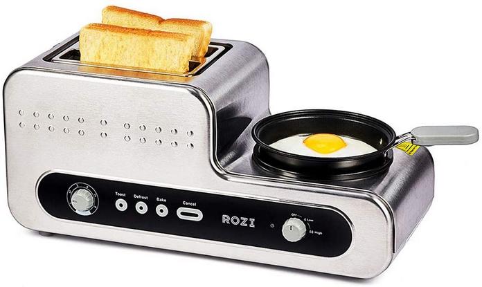 electromenagers cuisine simple petit dejeuner grille pain casserole tout en un pas cher innovant