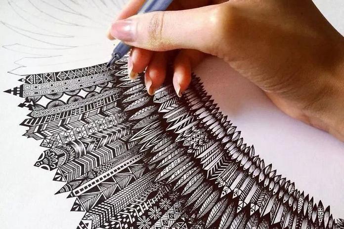 feutre crayon stylo dessin debuter apprendre materiel debutant