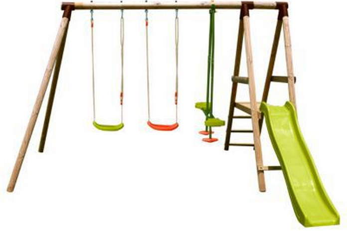 jeu enfant exterieur aire de jeux parc balancoire tobogan amenagement mobilier jardin