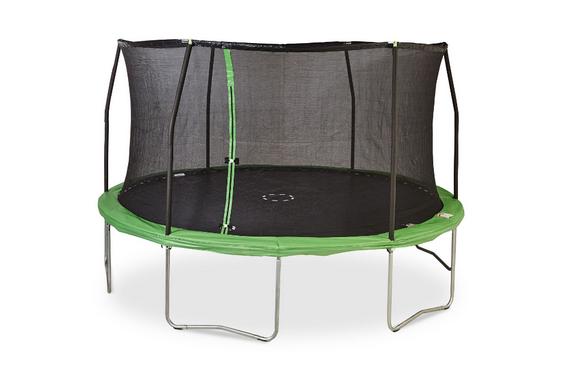 jeu enfant exterieur aire de jeux parc balancoire tobogan amenagement mobilier jardin trempoline