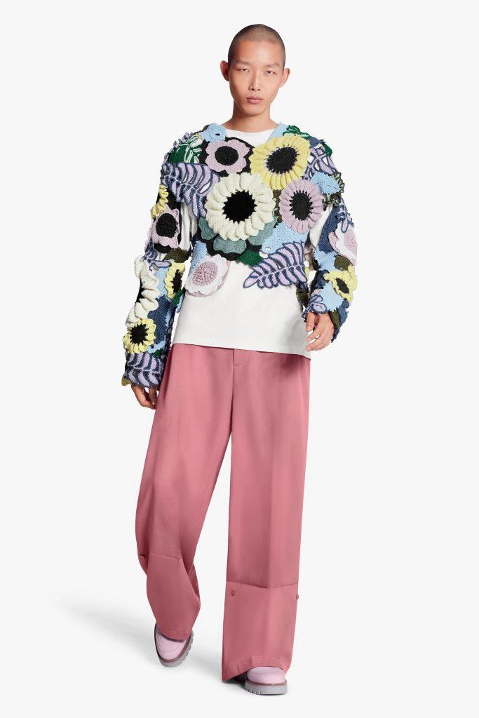 look homme luxe pop culture colore printemps ete 2020 louis vuitton