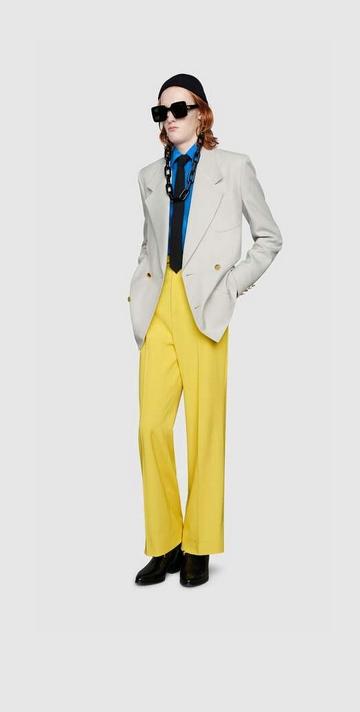 mode homme gucci marque luxe printemps ete 2020 pop culture vintage couleur