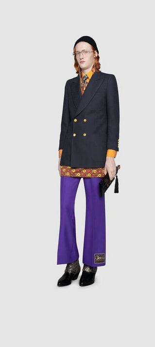 mode homme gucci marque luxe printemps ete 2020 pop culture vintage couleurs