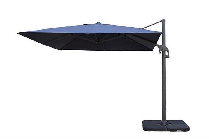parasol mobilier exterieur salon de jardin tonnelle toile