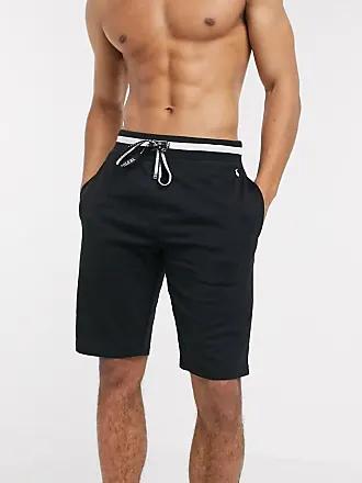 short homme jersey streetwear look tenue ete 2020 noir cordon ralph lauren