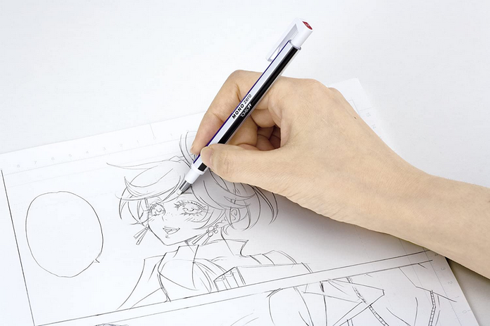 stylo gomme materiel indispensable dessin debutant apprentissage
