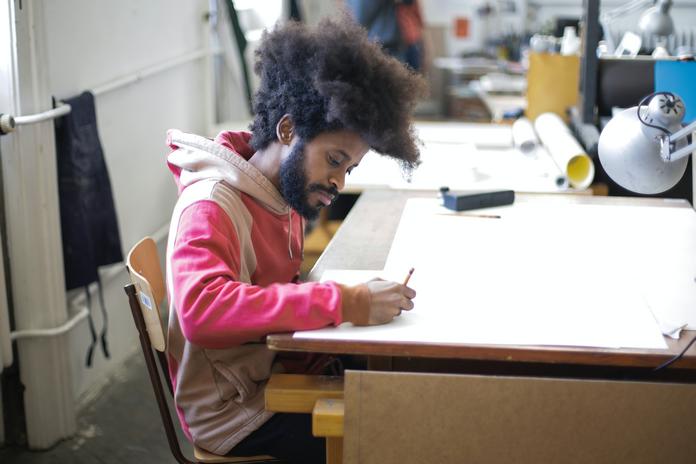 tablette dessin plan de travail mesure materiel apprendre debuter