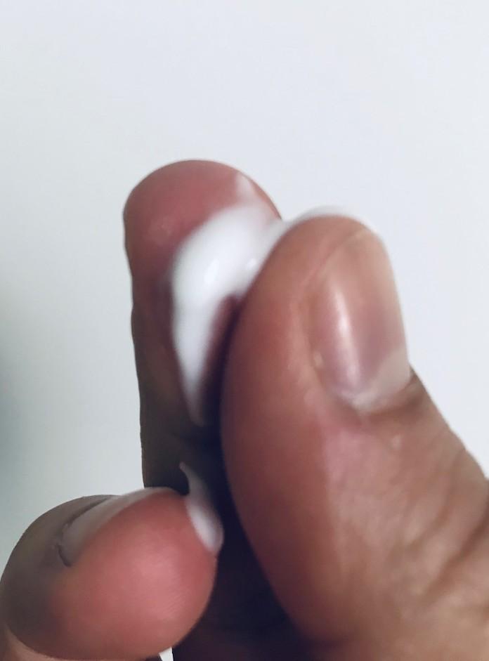 test avis the ritual of samurai lotion corps texture