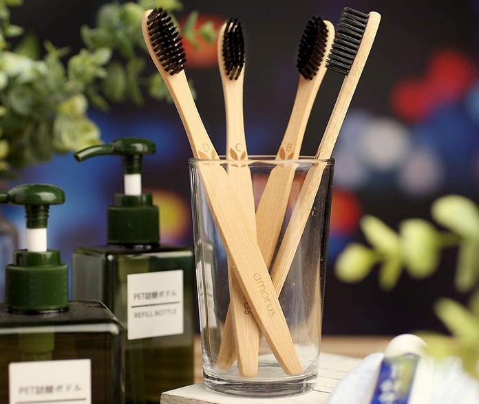 zero dechet maison salle de bain brosse a dent bambou dentifrice solide poudre naturel