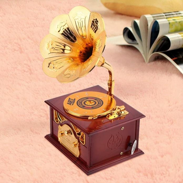 Boite a musique boite a bijoux rangement retro vintage decoration maison salon chambre .png