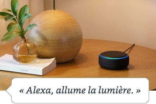 amazon echo enceinte connectee maison connexion smartphone bluetooth wifi alexa google home high tech