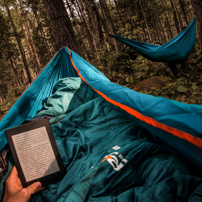 hamac lit camp dormir camping camper arbre tente sureleve accessoire materiel