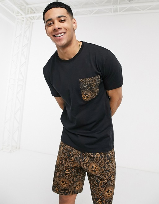 look homme durable ethique ecoresponsable asos ensemble 2020 ete short t shirt casual confort