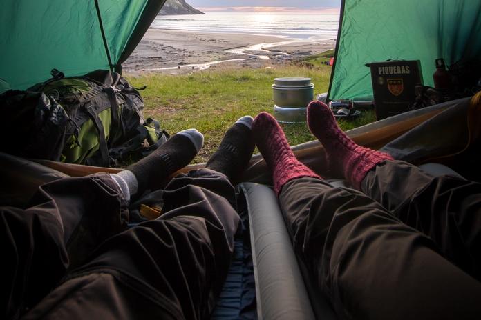 matelas camping lit camp camper dormir nature accessoire materiel tente exterieur