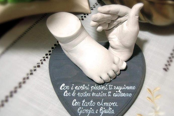 platre moulage famille 3D idee cadeau fete maman mere 2020 original faire soi meme