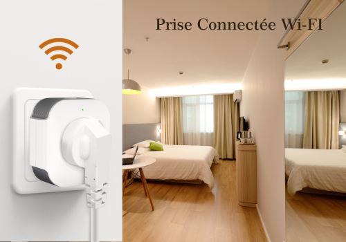 prise wifi maison connectee energie high tech smartphone economie