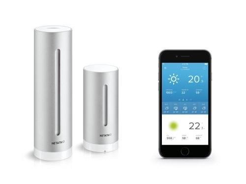 station meteo connexion smartphone wifi maison connectee energie high tech economiser