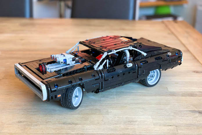 test avis lego fast and furious dodge charger dom belle