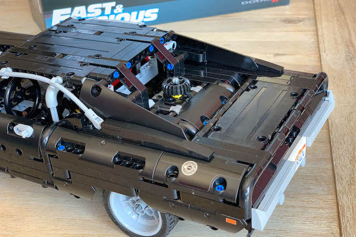 test avis lego fast and furious dodge charger dom coffre