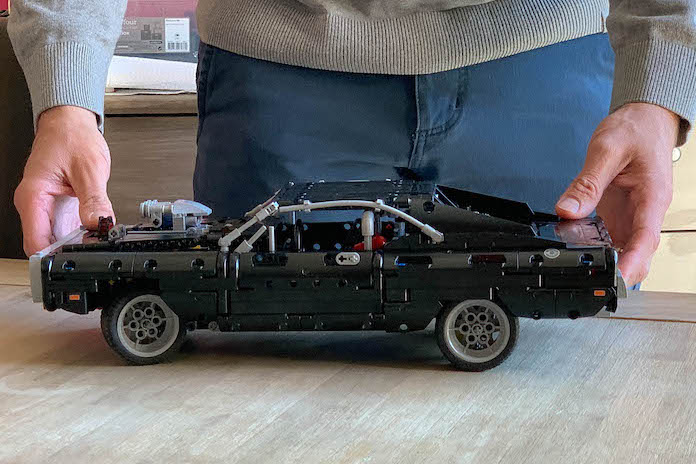 test avis lego fast and furious dodge charger dom grande