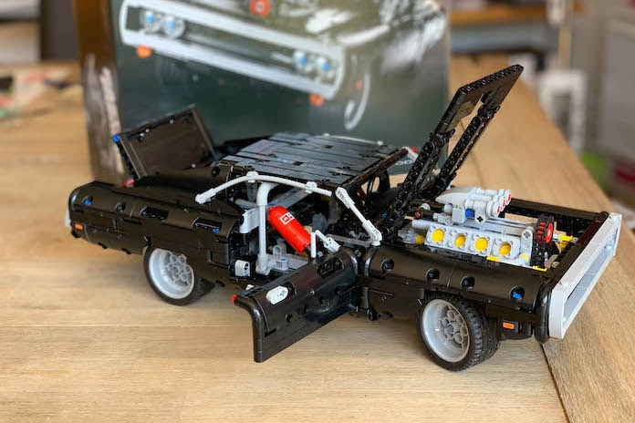 test avis lego fast and furious dodge charger dom ouverte