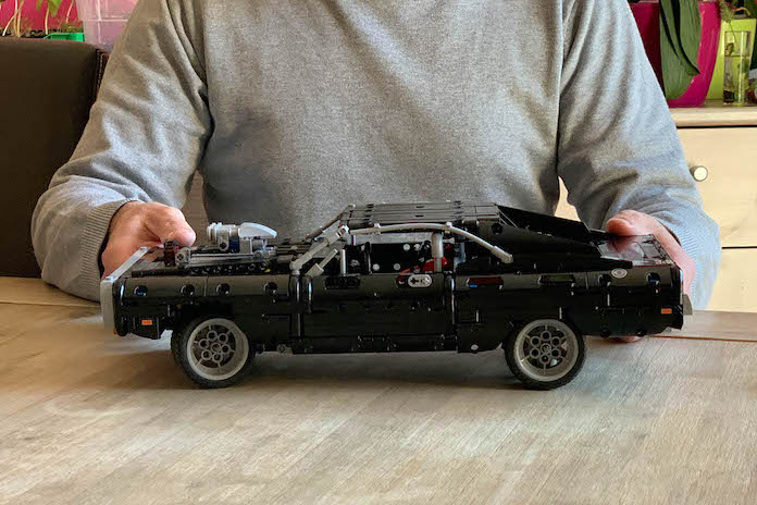 test avis lego fast and furious dodge charger dom taille