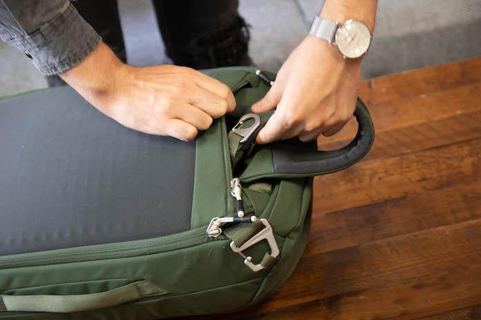 test avis osprey sac arcane duffel laniere