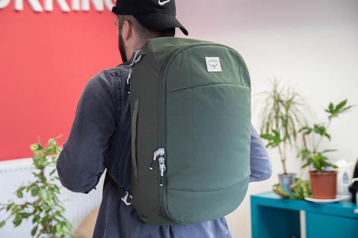 test avis osprey sac arcane duffel porte