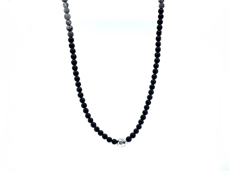 collier perle cuir cordon acier argent bois homme bijoux idee cadeau fete des peres papa garcon bijou accessoires
