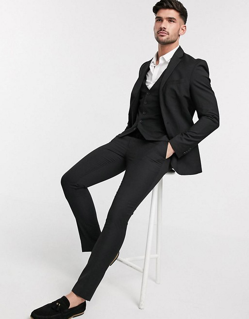 costume noir look inspiration inspire film serie cinema cinematographie role acteur john wick outfit
