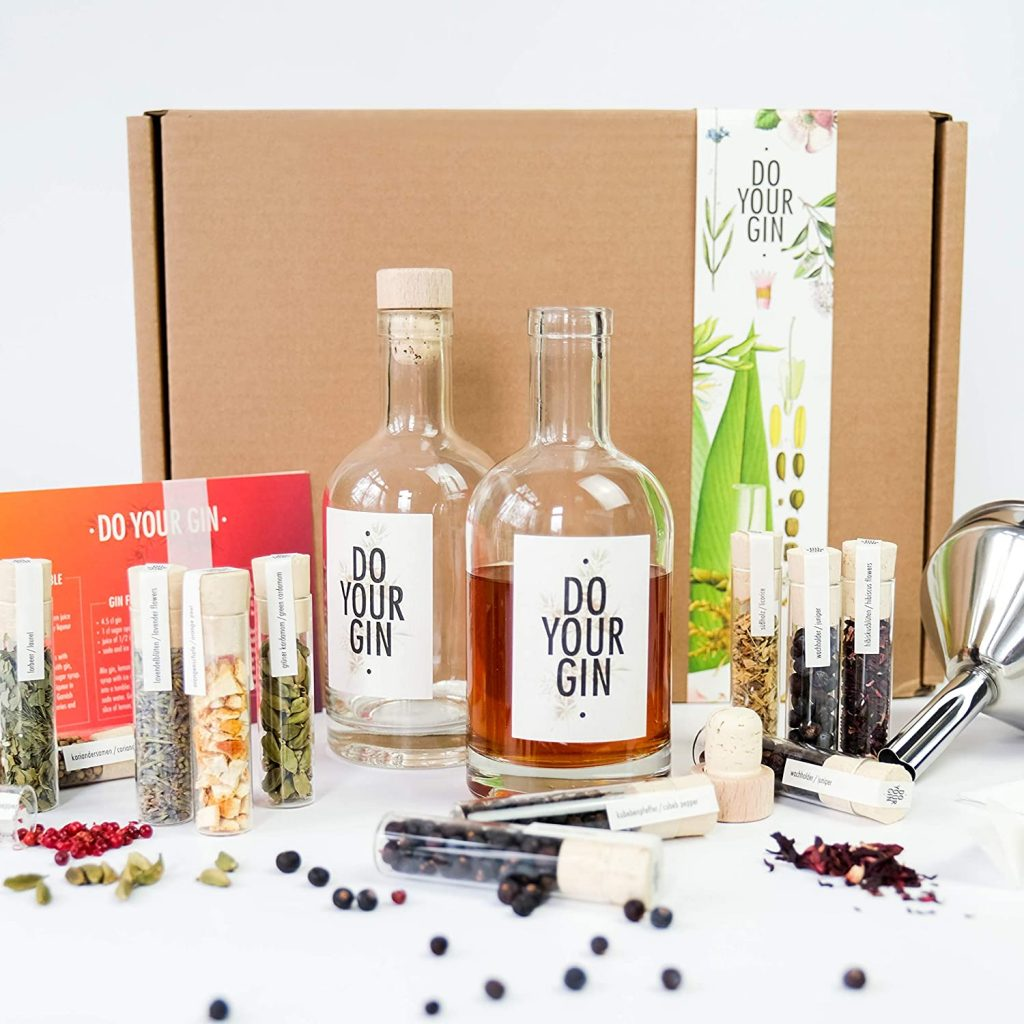 idee cadeaux ecolo ecologie vegan ecoresponsable ethique made in france durable sain naturel zero dechet kit fabrication gin maison artisanal
