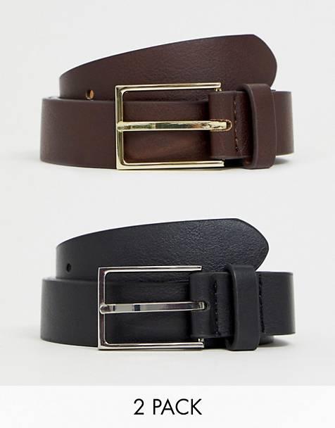 look style mode homme 2020 ete outfit tenue idee vetement accessoire ceinture cuir classe boucle metal elegant lot noir marron