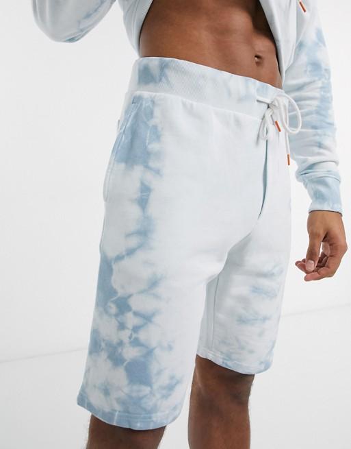 look style mode homme 2020 ete outfit tenue idee vetement short jersey bleu blanc delave pastel clair asos