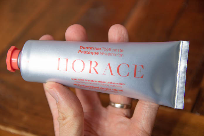 test dentifrice horace pasteque avis