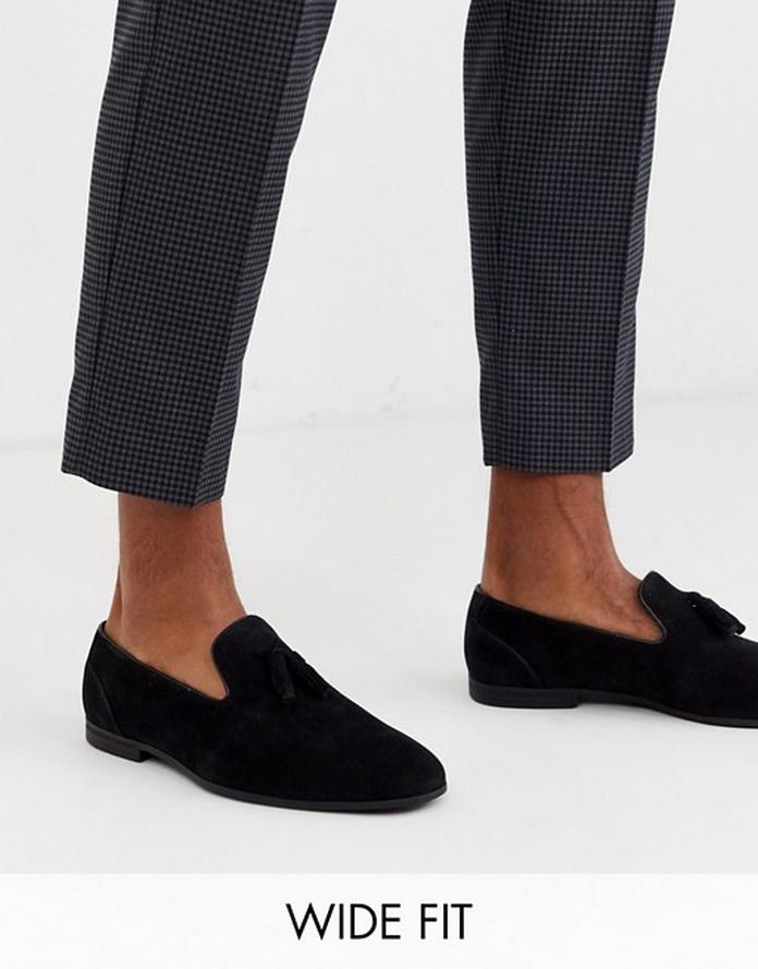 mule chaussure look tenue vacances homme ete blog mode pas cher asos basket mocassin cuir noir daim boucle.jpg
