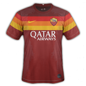 plus-beaux-maillots-foot-2020-2021-as-roma-domicile