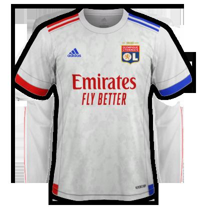 plus-beaux-maillots-foot-2020-2021-lyon-domicile