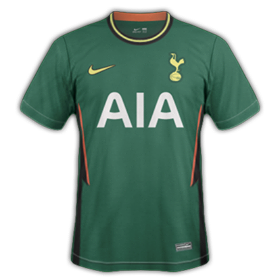 plus-beaux-maillots-foot-2020-2021-tottenham-exterieur
