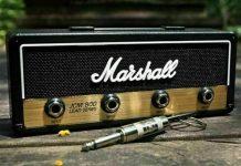 accessoire musique decoration vintage marshall ampli porte cle musicien idee cadeau.jpg