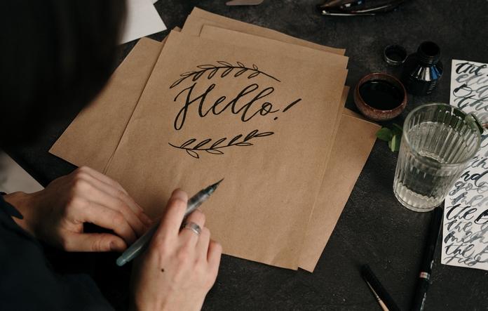 materiel accessoire calligraphie ecriture carnet cahier feuille libre professionnel pas cher
