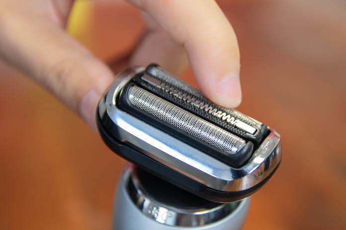 test braun series 7 360 flex rasoir electrique tete